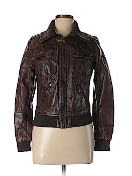 Full Tilt Faux Leather Jacket Size XL