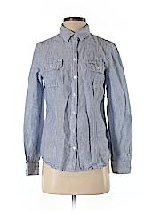 Kenar Women Long Sleeve Button-Down Shirt Size S