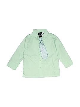 TFW Long Sleeve Button-Down Shirt Size 24 mo