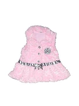 Little Lass Faux Fur Vest Size 3T