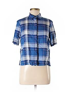 Zara Short Sleeve Button-Down Shirt Size XS