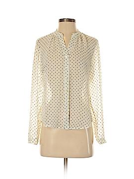Laura Ashley Long Sleeve Blouse Size 4