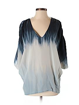 Ramona LaRue by Arianne 3/4 Sleeve Silk Top Size S