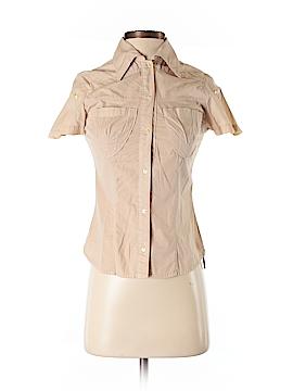 Miss Sixty Short Sleeve Button-Down Shirt Size XS