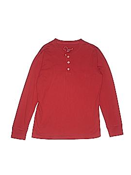 Mini Boden Long Sleeve Henley Size 11/12