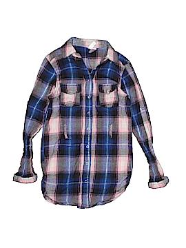 Japna Kids Long Sleeve Button-Down Shirt Size 8