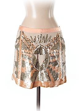 Guess Silk Skirt 26 Waist