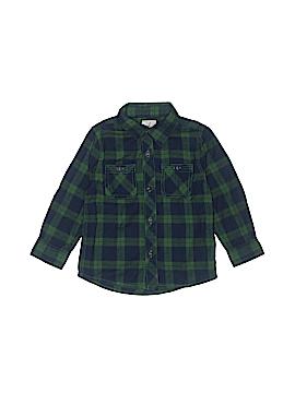 Peek... Long Sleeve Button-Down Shirt Size 18-24 mo
