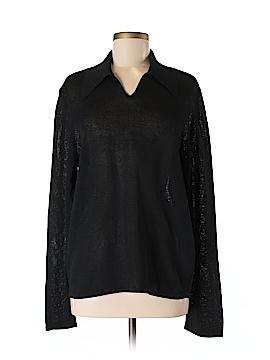 Hermès Long Sleeve Polo Size M