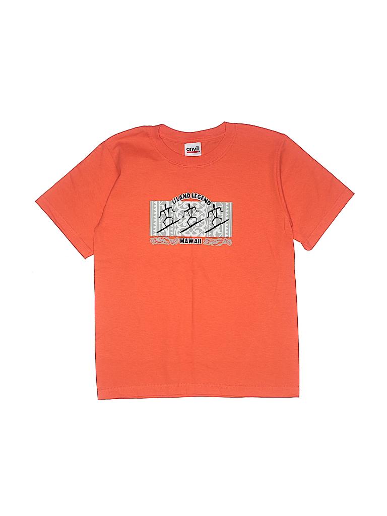 Anvil Boys Short Sleeve T-Shirt Size S (Youth)