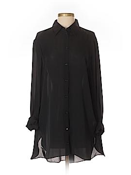 Jarbo Long Sleeve Silk Top Size 2