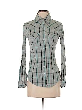 Full Tilt Long Sleeve Button-Down Shirt Size S