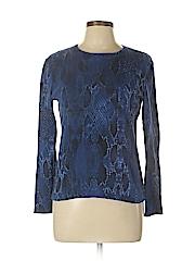 Jones New York Signature Women Long Sleeve T-Shirt Size M