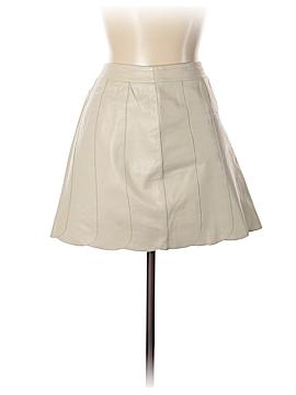 Margaret Godfrey Leather Skirt Size 10