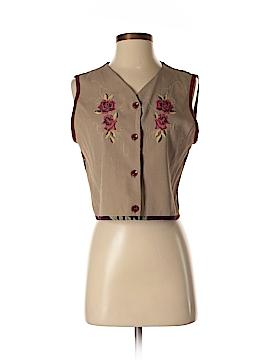 Carole Little Tuxedo Vest Size 8