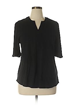 Soft Surroundings Short Sleeve Blouse Size XL (Petite)