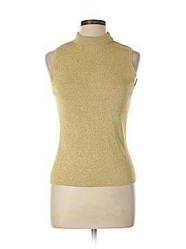 Versailles Sleeveless Silk Top Size L