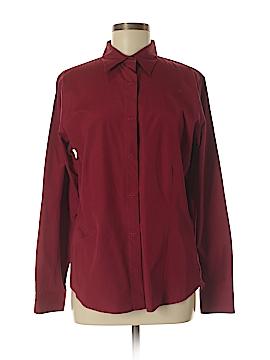 Eddie Bauer Long Sleeve Button-Down Shirt Size M (Tall)