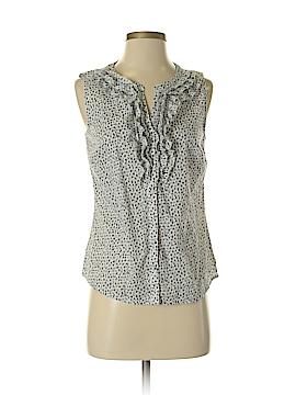 Ann Taylor LOFT Sleeveless Button-Down Shirt Size S (Petite)