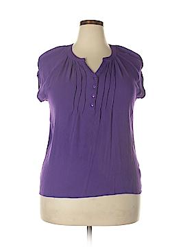 Laura Scott Short Sleeve Top Size 0X (Plus)