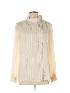 Adiva Long Sleeve Blouse Size L