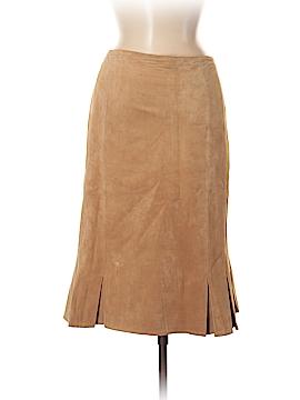 DANIER Leather Skirt Size 10 (UK)