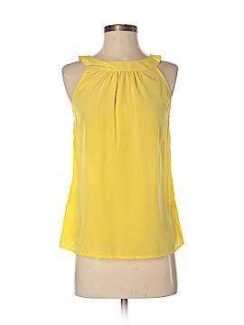 Banana Republic Sleeveless Silk Top Size 2