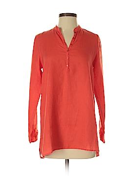 Eileen Fisher 3/4 Sleeve Button-Down Shirt Size XXS