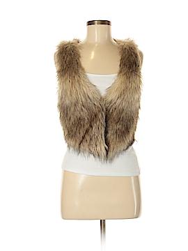 Divided by H&M Faux Fur Vest Size 6