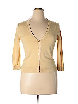 August Silk Cardigan Size L (Petite)