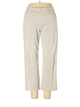JM Collection Khakis Size 14 (Petite)