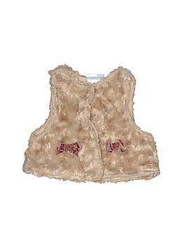 Vitamins Baby Faux Fur Vest Size 6