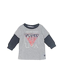 Guess Long Sleeve T-Shirt Size 12 mo