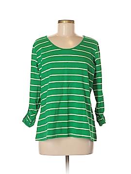 Susan Graver 3/4 Sleeve T-Shirt Size M