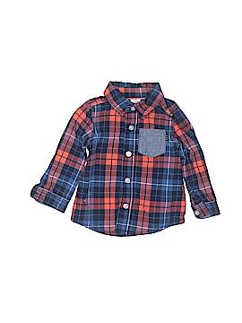 Baby B'gosh Long Sleeve Button-Down Shirt Size 12 mo