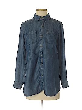 J.jill Long Sleeve Button-Down Shirt Size S (Petite)