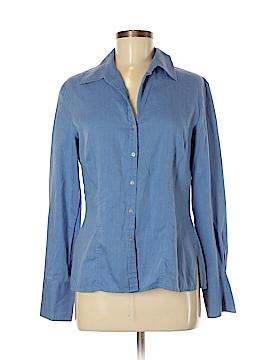 Como Long Sleeve Button-Down Shirt Size 8