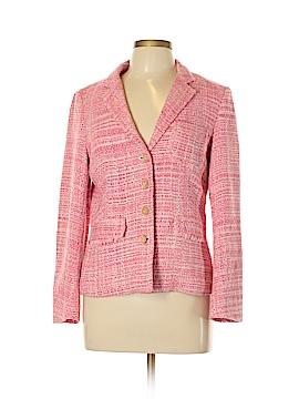 J. McLaughlin Silk Blazer Size 10