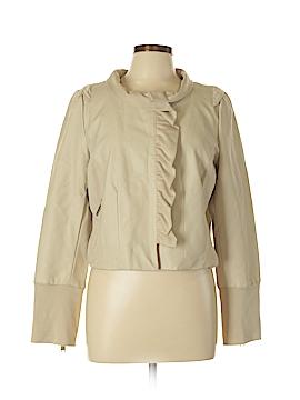 Madison Women Faux Leather Jacket Size L