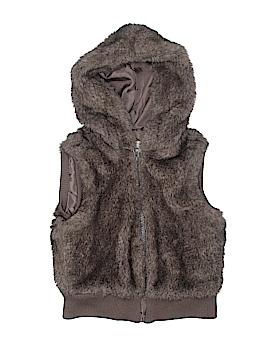 Old Navy Faux Fur Vest Size M (Kids)