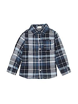 Crazy 8 Long Sleeve Button-Down Shirt Size 4T