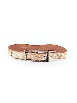 Aldo Leather Belt Size S