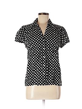 Alfani Short Sleeve Button-Down Shirt Size 8