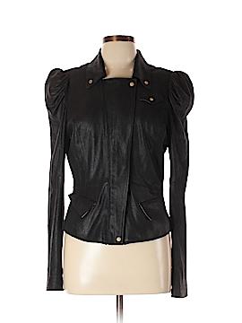 RACHEL Rachel Roy Leather Jacket Size L