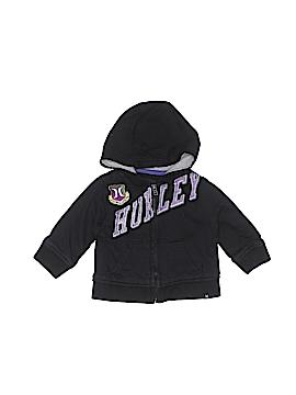 Hurley Zip Up Hoodie Size 6-9 mo
