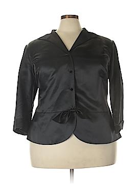 Lafayette 148 New York Silk Blazer Size 22 (Plus)
