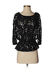 INC International Concepts Women 3/4 Sleeve Blouse Size S