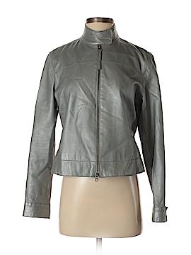 Nine West Faux Leather Jacket Size 6