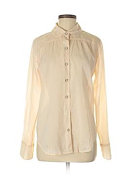 Isabella Sinclair Long Sleeve Button-Down Shirt Size M