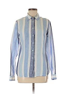 Island Company Long Sleeve Button-Down Shirt Size M